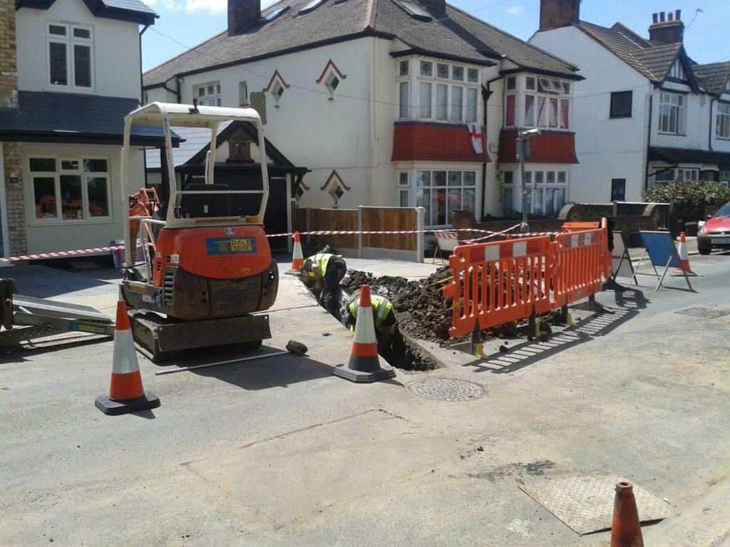 Drainfix Services providing professional drain excavation